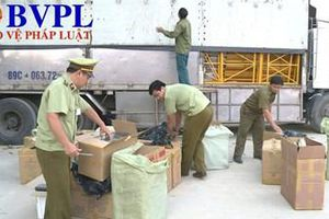 Phát hiện xe tải vận chuyển 19.000 bao thuốc lá nhập lậu