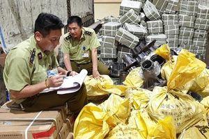 Quản lý thị trường Lạng Sơn liên tiếp thu giữ hàng hóa nhập lậu