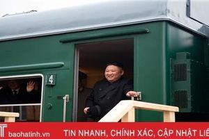 Chủ tịch Kim Jong-un lên tàu rời Vladivostok vào trưa nay