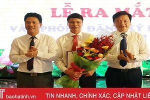 Ra mắt Văn phòng Đăng ký đất đai tỉnh Hà Tĩnh