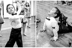 'Lên đồ' vũ công cực chất, con trai Khánh Thi khiến dân mạng trầm trồ: 'Kiện tướng tương lai là đây chứ đâu'