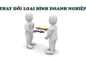 Hồ sơ chuyển đổi doanh nghiệp tư nhân thành công ty trách nhiệm hữu hạn