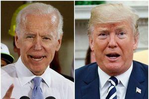 Ông Trump mỉa mai 'Biden ngủ gật' khi cựu phó tướng của Obama tuyên bố tranh cử