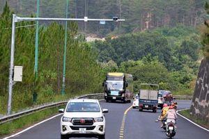 Lâm Đồng lắp camera giám sát giao thông trên Quốc lộ 20