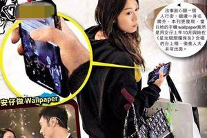 Huỳnh Tâm Dĩnh công khai cắm sừng Mã Quốc Minh khi đặt ảnh nền điện thoại đôi với Hứa Chí An