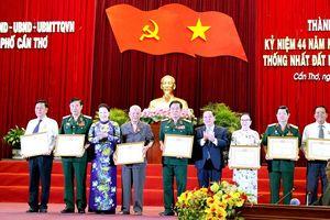 TP. Cần Thơ tổ chức kỷ niệm 44 năm ngày Thống nhất đất nước