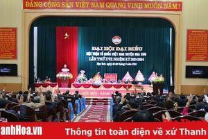 Tiếp tục đổi mới mạnh mẽ nội dung, phương thức hoạt động của hệ thống MTTQ huyện Nga Sơn
