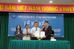 VETC ký thỏa thuận hợp tác giữa Nhà trường và doanh nghiệp