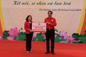Gần 7 tỷ đồng ủng hộ Tháng Nhân đạo tại Hải Dương