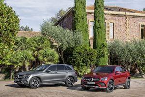 Mercedes GLC và GLC Coupe 2019 chính thức mở bán tại châu Âu