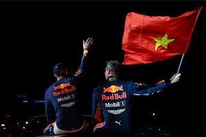 Red Bull Racing đem mẫu xe đua vô địch RB7 tới F1 Việt Nam