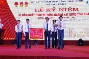 Sở Xây dựng Thái Bình kỷ niệm 60 truyền thống ngành