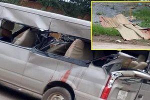Ô tô 16 chỗ tông đuôi xe tải, nhiều người thương vong ở Bắc Giang