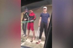 Khởi tố 8 thanh niên dùng dao kiếm hỗn chiến, truy sát nhau