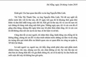 Vợ nguyên Viện phó Viện KSND TP Đà Nẵng yêu cầu công an can thiệp