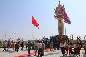 Khánh thành Đài Hữu nghị Việt Nam – Campuchia tỉnh Banteay Meanchay