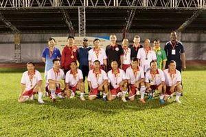 Đội Việt Nam vô địch Giải bóng đá giao hữu các đoàn CISM