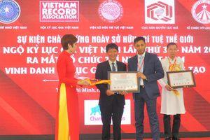 Xác lập thêm 2 Kỷ lục Châu Á mới tại Việt Nam