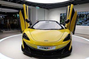 Chi tiết xiêu xe McLaren 600LT Spider giá bán 12,1 tỷ đồng