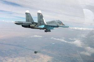 Không quân Nga không kích khủng bố trên khắp Tây Bắc Syria