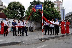 Bộ trưởng Bộ Tư pháp đầu tiên được gắn biển tên trên phố Hà Nội