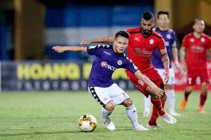 Quang Hải thể hiện đẳng cấp ngôi sao giúp Hà Nội lên đỉnh V.League