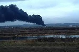 Cháy lớn ở nhà máy sản xuất tên lửa Krasmash của Nga