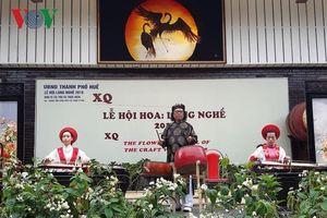 Khai mạc Lễ hội hoa làng nghề - tôn vinh hoa Việt