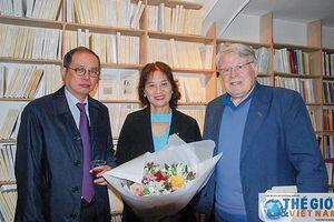 Nhà văn Trần Thị Hảo với nhịp cầu văn hóa Việt - Pháp