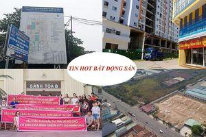 Nhiều nhà dân nứt toác cạnh dự án chung cư, 'bêu tên' CĐT om sỏ đỏ của dân