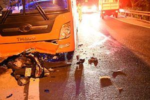 Xe máy đối đầu xe khách trên đèo Prenn, 2 người thương vong