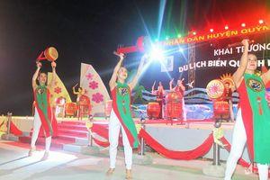 Rộn ràng khai trương Du lịch biển Quỳnh 2019