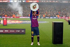Barcelona vô địch La Liga: Hãy mang Liverpool đến đây