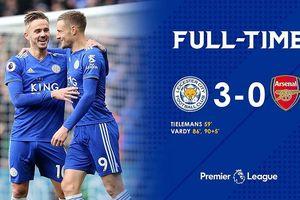 Leicester City 3-0 Arsenal: Đừng khóc cho những đứa trẻ