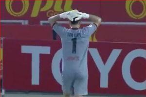 CLIP: Đặng Văn Lâm thi đấu suất sắc Muangthong United vẫn không thắng