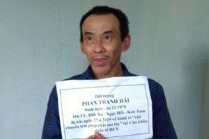 Kon Tum: Bắt đối tượng mang ma túy đá vào Việt Nam tại cửa khẩu Bờ Y