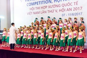 1000 nghệ sĩ sẽ tham gia hội thi hợp xướng quốc tế Việt Nam lần thứ VI