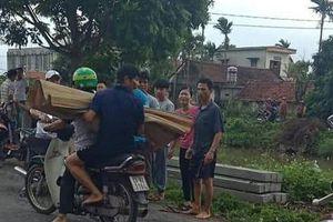 Tìm thấy thi thể bé trai 7 tuổi đi xe đạp ngã xuống sông ở Nam Định