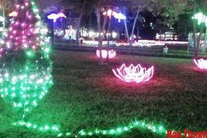 Thanh Hóa: Khai mạc lễ hội ánh sáng tại Công viên văn hóa Hội An