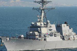 Hải quân Mỹ đưa 2 tàu khu trục đến eo biển Đài Loan