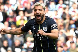 Pep Guardiola phong Aguero là 'huyền thoại' của Man City