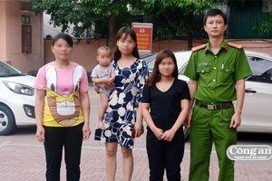 Giải cứu 3 nạn nhân bị lừa bán ra nước ngoài