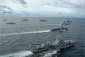 Hàn Quốc và ASEAN tập trận trên biển