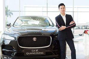 Quang Dũng tậu SUV hạng sang Jaguar F-Pace tiền tỷ