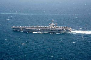 Iran công bố phim do UAV ghi hình tàu sân bay Mỹ tại vịnh Ba Tư
