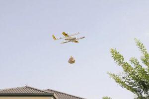 Startup Wing của Alphabet được cấp phép giao hàng bằng drone