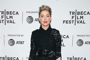 Amber Heard diện váy hở bạo trên thảm đỏ Liên hoan phim Tribeca