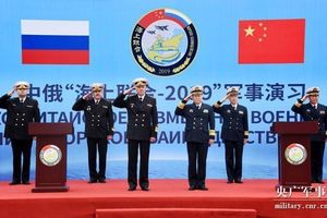 Trung Quốc và Nga tổ chức tập trận chung trên biển