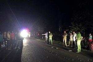 Xe máy đối đầu 2 người chết, 2 cháu nhỏ bị thương nặng