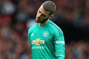 De Gea đang bị các thủ môn khác bỏ xa ở Premier League